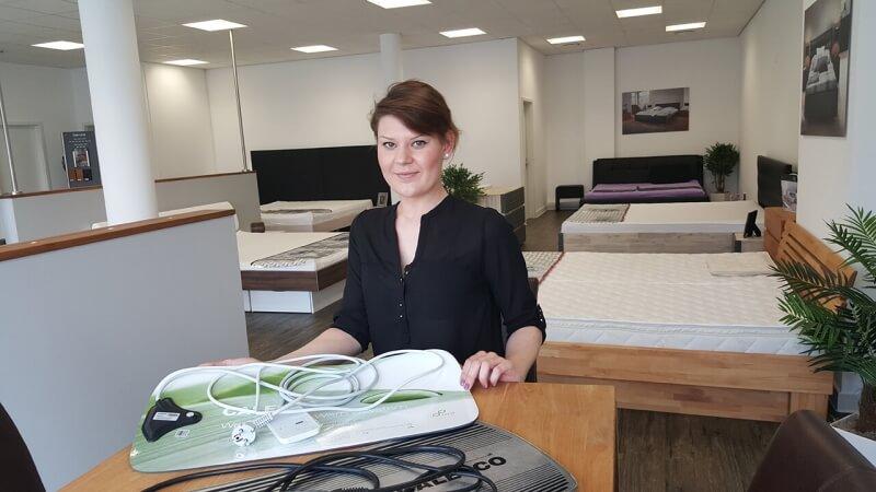 Wasserbetten Ausstellung Aschaffenburg - Frau Miriam Orluk