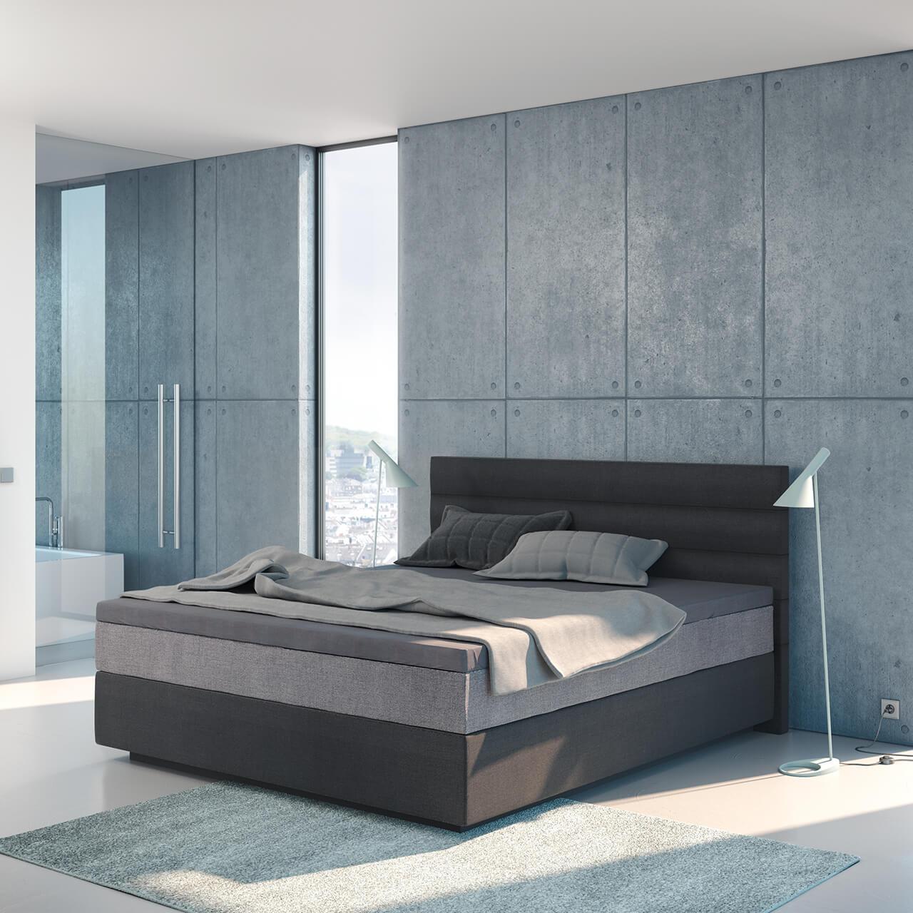 wasserbett inklusive suma boxspring classic wandpaneel largo topper laken set 54 suma. Black Bedroom Furniture Sets. Home Design Ideas