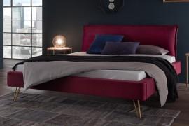 Wasserbett + Bettrahmen Dreamline Sole 18/4S + Kopfteil Cussina + Füße Fasio