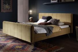 Wasserbett + Polsterbett Dreamline Lungo 23/2S mit Kopfteil Combia + Füße Fasio