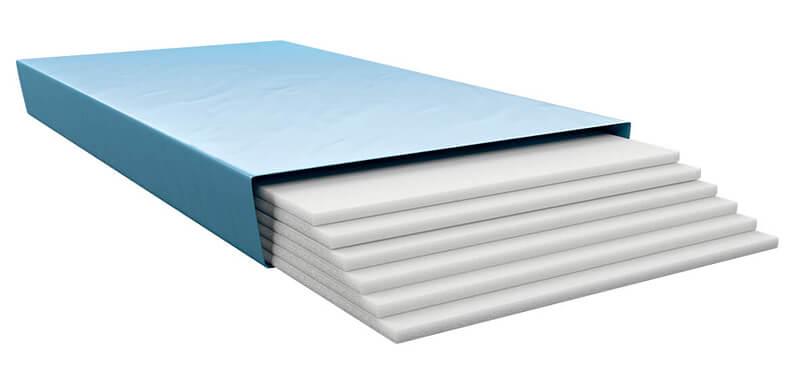 Blue Wassermatratzen