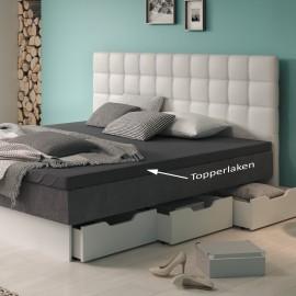 Topper Spannbettlaken für Wasserbetten - Premium