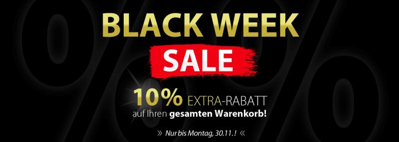 AUFGEPASST! >> 10% EXTRA-RABATT auf Ihren gesamten Warenkorb << NUR HEUTE!!