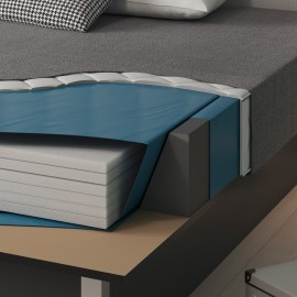 Bezug für Softside Wasserbetten mit Classic-Schaum