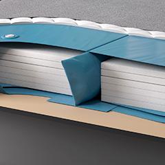 wasserbett flexx dual ein leben lang flexibel stufenlos einstellbar suma wasserbetten. Black Bedroom Furniture Sets. Home Design Ideas