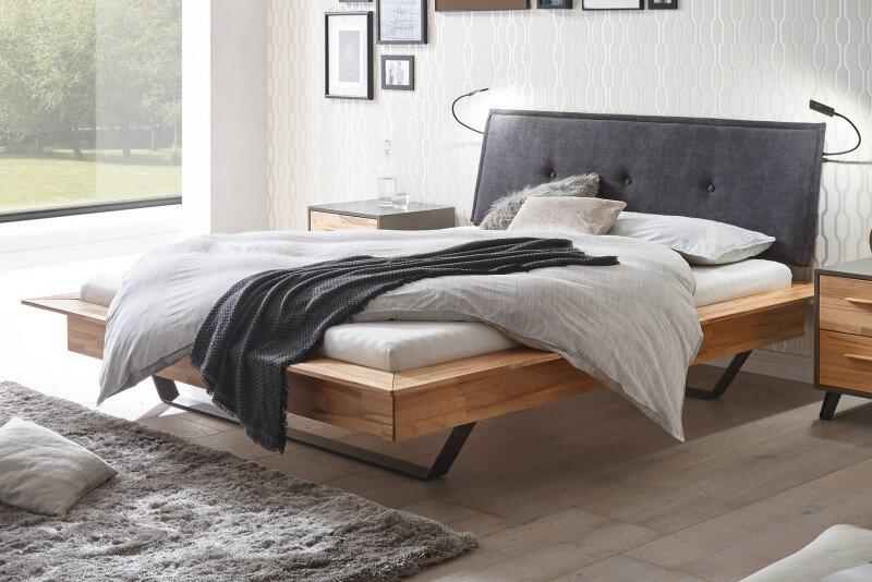 Wasserbett + Bettrahmen Moderno Piato 18 + Kopfteil Talma + Kufen Slid